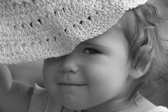 Opal (Wind Home) Tags: family pink portrait blackandwhite bw baby eye love hat opal lesamisdupetitprince