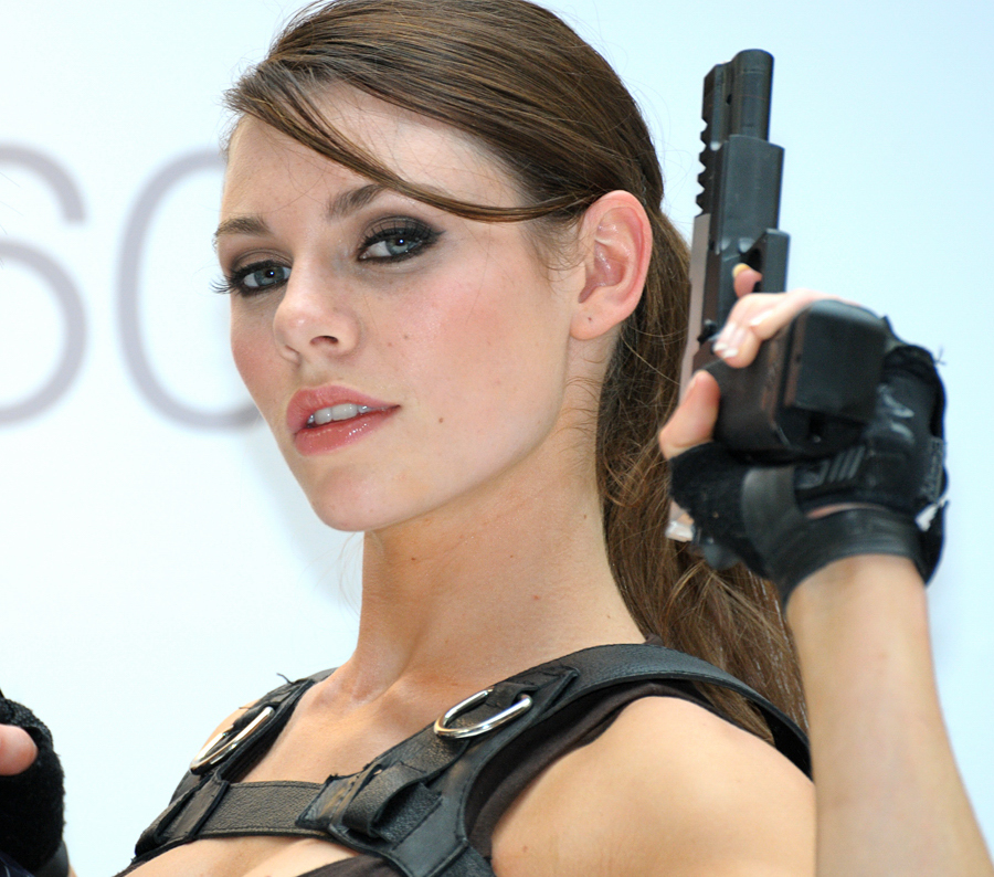 Lara Croft Alison Carroll I mean it may as well be a HOT face right
