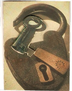 A lock and a key!