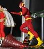 MezcoPreview_2017_9 (SkeletonPete) Tags: mezzotoyz actionfigures marvelcomics dccomics batman superman doctorstrange spaceghost one1217dc