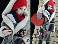 Coat-Paris2 (Dollfason) Tags: raduet fashionfordoll dolloutfit clothes for dolls collection accessories bjd