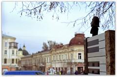 Liszt. Philharmonia Square (Rudolfsplatz). Chernivtsi, Ukraina. (Ігор Кириловський) Tags: liszt chernivtsi ukraina philharmonia square rudolfsplatz slr fujica stx1 xfujinon ebc 50mm f16 kodak colorplus 200