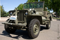 Korean War Military Police MB Jeep (mr. nightshade) Tags: usa star militarypolice authentic m38 koreanwar olivedrab wwiijeep willysmbjeep 30calmachinegun korea1944 korea44