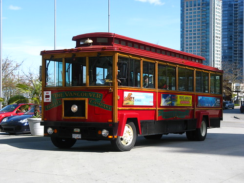 Vancouver Trolley Company Bus