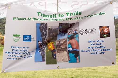 Transit to Trails by The City Project.