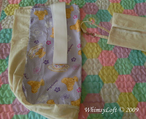 Purple Teddy Eco Bag 3