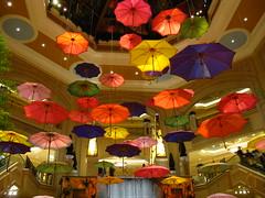 Atrium in the Palazzo Las Vegas