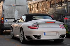 Porsche 911 Turbo S Cabriolet (997) (medvebarat) Tags: 911 s turbo porsche mkii 997