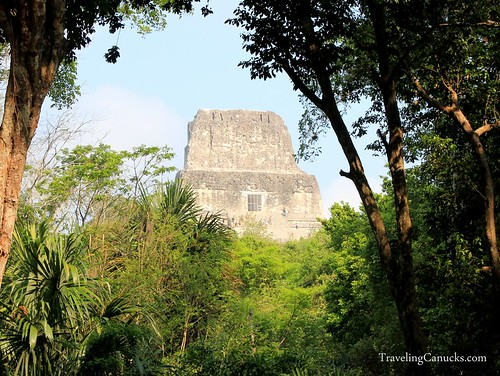 Mayan Temple in Tikal National Park, Guatemala