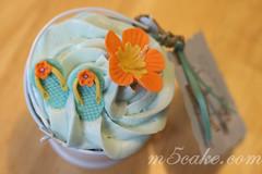Luau cupcakes - 10