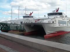 Trinidad water-taxi 3 (Starjack30) Tags: water ferry boat taxi catamaran portofspain trinidadtobago austal