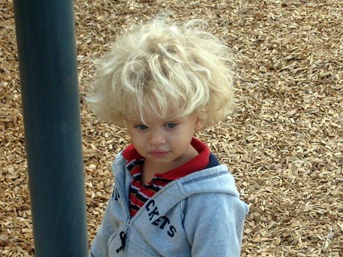 Gabe at the park