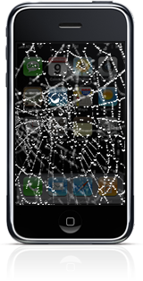 iPhone Spider Web