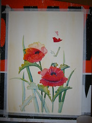 Poppies WIP