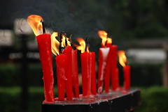 (divya babu) Tags: china shrine candle chengdu wuhoushrine