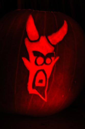 The Devil ala H. Jon Benjamin from Lucy, the Daugher of the Devil