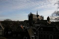Leiden skyline
