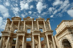 The Library of Celsus (Echo_29) Tags: turkey roman trkiye ruin restored ephesus libraryofcelsus