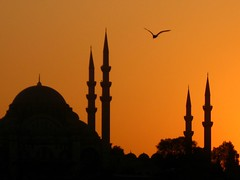 Süleymaniye 2 (H e r m e s) Tags: sunset silhouette turkey türkiye istanbul ottoman taksim siluet sinan turkish bosphorus galata smörgåsbord beyoğlu osmanlı ottomanstyle
