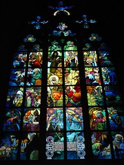 Mucha, St Vitus Cathedral (Tjflex2) Tags: world trip travel blue light vacation holiday color colour art church window beautiful illustration wonderful painting searchthebest heart prague gothic praha stainedglass praskhrad artnouveau czechrepublic mucha highfive christianity soe magiceye shiningstar czechoslovakia romancatholic masterpiece decorativeart praguecastle archbishop aclass alfonsmucha travelpix blueribbonwinner stwenceslas stcyril romanesquearchitecture supershot bestofme stludmila top20colorpix 123travel golddragon abigfave katedrlasvathovta worldwidewandering armchairtravel anawesomeshot aplusphoto ultimateshot flickrenvy superbmasterpiece pritzkerarchitectureprize diamondclassphotographer flickrdiamond amateurshighfive ysplix amazingamateur worldpicture heartawardsgroup eperkeaward colourartaward platinumheartaward excapture betterthangood goldstaraward saintvitusscathedral gratepic