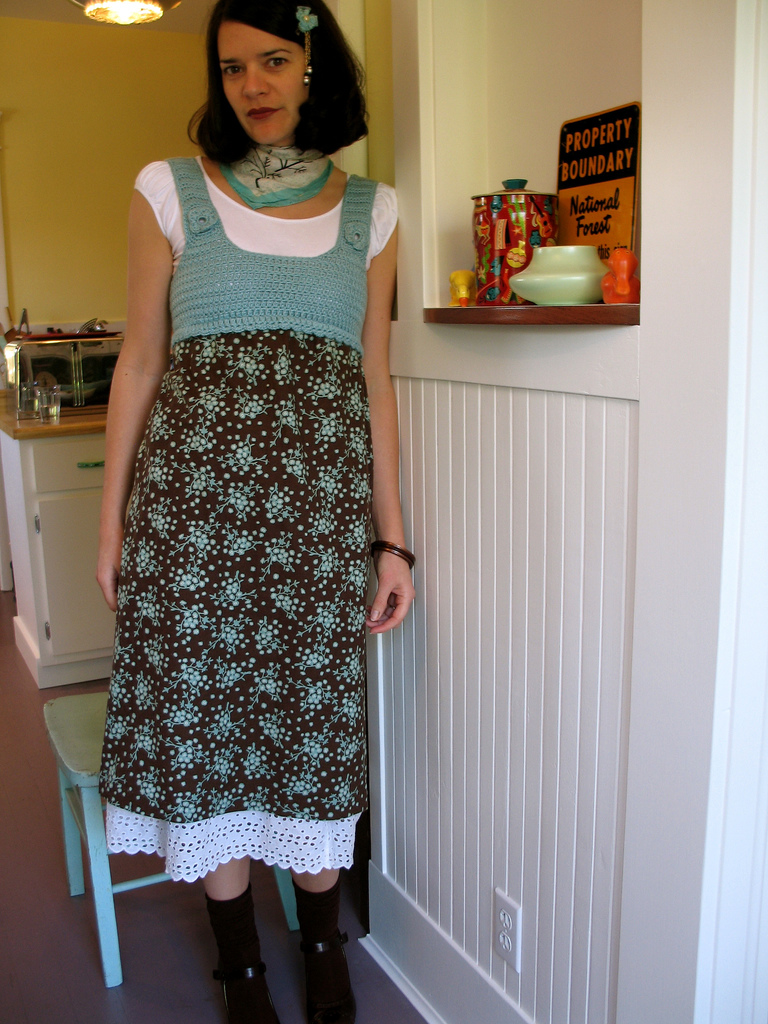 Crochet Bodice Dress II