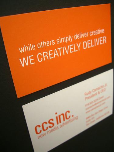 CCS business cards