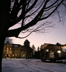 Fox Box on the Saint Anselm College Quad
