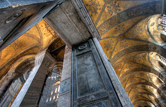 Hagia Sofia doorway (Timothy Neesam (GumshoePhotos)) Tags: door church museum turkey aya sofia entrance istanbul mosque doorway timothy sophia hagai neesam phjotomatix