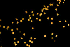 Starry Night (vyxle) Tags: christmas light night dark stars lights star pretty bokeh shaped twinkle sparkle concept lovely shape fairylights twinklelights