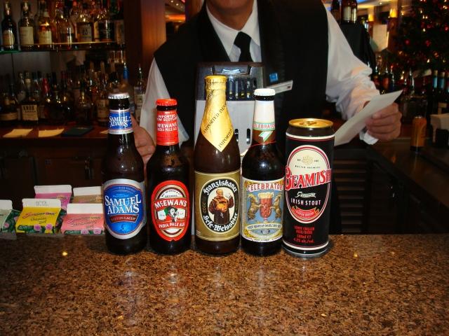 12202007 Beer tasting lineup part 2