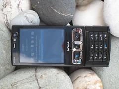 Nokia N95 8GB @ beach
