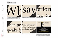 Morgan Stanley Van Kampen Ad Campaign Concepts 1 of 10: Performance / 2005 / SML Interac