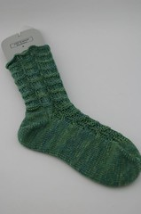 Ripples sock #1 done