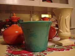 New Bauer Treasures (.Hollie.) Tags: bauer pottery mccoy californiapottery bauerpottery