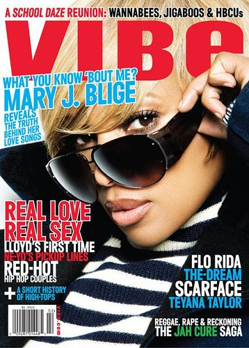Mary j blige on the cover of vibe magazine
