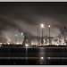 Grangemouth Oil Refinery by Night