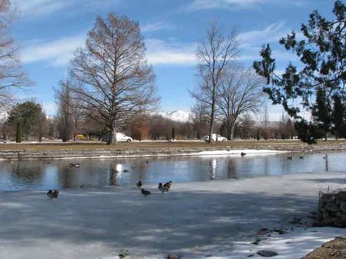 julian barratt and julia davis. Julia Davis Park -Winter in Boise