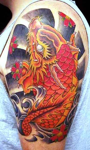 Japanese Tattoo Designs Especially Japanese Dragon Koi Fish Tattoos Picture 8