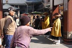 """""""next to the monks"""" (kurokojpn) Tags: japan tokyo orlando elderly   kuroko canon40d photosjapan kurokoshiroko kuroko01 kurokoshiroko photographytokyo photostokyo bestoftokyo tokyobest orlandojpn photosofsugamo thetokyopost kurokojpn"""
