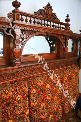 150 year old sofa in a Greek island house.