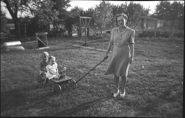 1940s Spencer - Stephen Lundstrom, Cathie Lee Ekwall, and Dorothy Harding Spencer