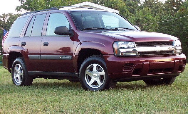 chevrolet 2004 car chevy trailblazer suv