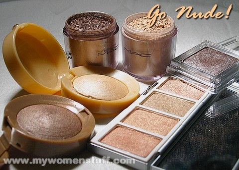 nude eyeshadows