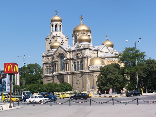 Varna Cathedral - Варна Катедрален por gordontour