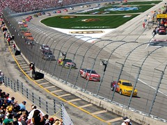 nascar (rogerblake2) Tags: nascar motorracing motorsport autosport michaelwaltrip kaseykahne daytona500 nextelcup stockcarracing carracing jimmyjohnson terrylabonte checkeredflag kevinharvick dallasmotorspeedway sterlingmar