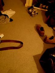 messy room (rickyjdog) Tags: shoe belt mess room ricky brothel
