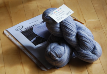 Perchance to Knit yarn + shawl pattern