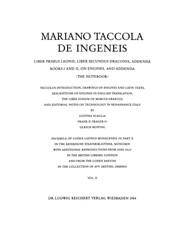 Portada DE INGENEIS-Taccola