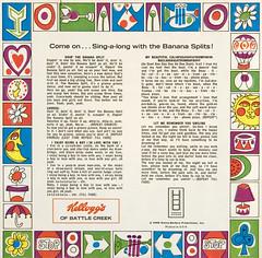 Banana Splits single (enso-on) Tags: show records childhood children vinyl single bingo kelloggs bananasplits snorky fleagle drooper