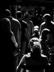 Laneway Light (PDPhotography) Tags: light sun monochrome hair cafe nikon australia melbourne lane thefuture d300 5photosaday mywinners
